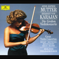 Anne-Sophie Mutter / Berliner Philharmoniker / Herbert von Karajan - The Great Violin Concertos (4 CD's)