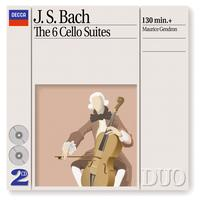 Maurice Gendron - Bach, J.S.: The 6 Cello Suites (2 CDs)