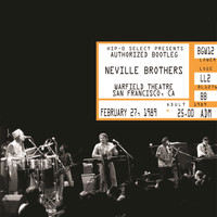 The Neville Brothers - Authorized Bootleg/Warfield Theatre, San Francisco, CA, February 27, 1989