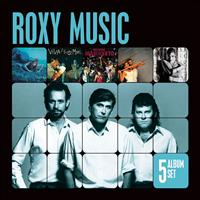 Roxy Music - 5 Album Set (Remastered) (Siren/Viva Roxy Music/Manifesto/Flesh and Blood/Heart Still Beating)