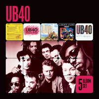UB40 - 5 Album Set (Signing Off/Present Arms/UB44/Labour of Love/Geffery Morgan)