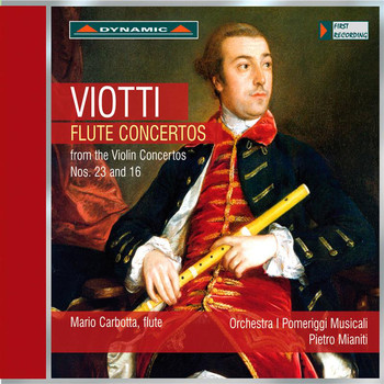 Mario Carbotta - Viotti: Flute Concertos from the Violin Concertos Nos. 23 and 16