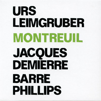 Barre Phillips - Montreuil