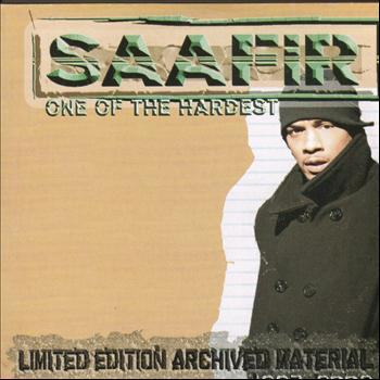 Saafir - One Of The Hardest - Limited Edition Archived Material 1997-2002