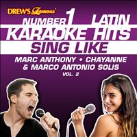 Reyes De Cancion - Drew's Famous #1 Latin Karaoke Hits: Sing Like Marc Anthony, Chayanne & Marco Antonio Solis, Vol. 2
