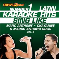 Reyes De Cancion - Drew's Famous #1 Latin Karaoke Hits: Sing Like Marc Anthony, Chayanne & Marco Antonio Solis, Vol. 3