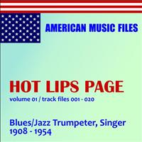 Hot Lips Page - Hot Lips Page - Volume 1 (MP3 Album)