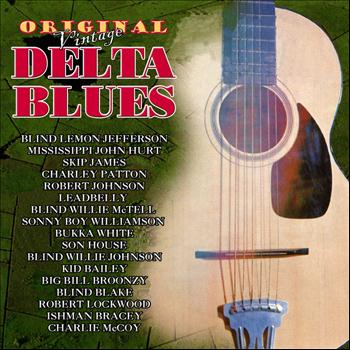 Various Artists - Original Vintage Delta Blues