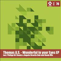 Thomas A.S. - Wonderful in Your Eyes Ep