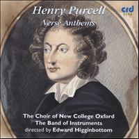 Edward Higginbottom - Henry Purcell