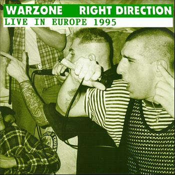 Warzone - Live in Europe 1995 - Split EP