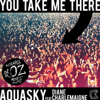 Aquasky - You Take Me There (feat. Diane Charlemagne) - Wizards Of OZ Mixes