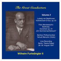 Wilhelm Furtwangler - The Great Conductors: Wilhelm Furtwängler, Vol. 2