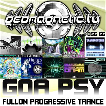 Various Artists - Geomagnetic Records Goa Psy Fullon Progressive Trance EP's 56 - 66