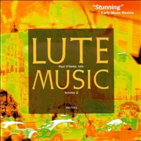 Paul O'Dette - Lute Music, Volume 2: Early Italian Renaissance Music