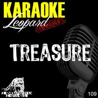 Leopard Powered - Treasure (Karaoke Version Originally Performed by Bruno Mars)