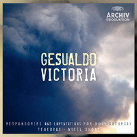 Tenebrae - Gesualdo / Victoria - Responsories And Lamentations For Holy Saturday