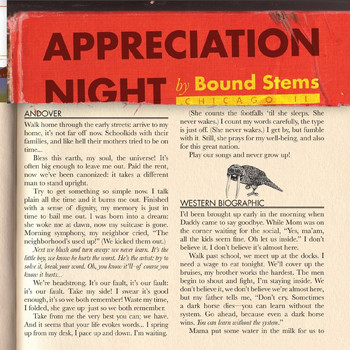 Bound Stems - Appreciation Night