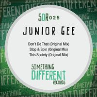 Junior Gee - Don't Do That EP