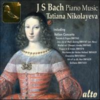 Tatiana Nikolayeva - Tatiana Nikolayeva Plays Bach Piano Music