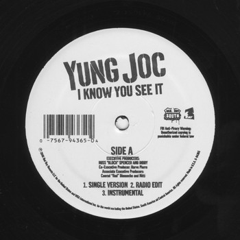Yung Joc - I Know You See It (Explicit)