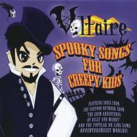 Voltaire - Spooky Songs For Creepy Kids
