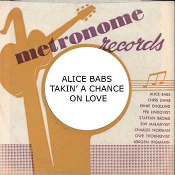 Alice Babs - Takin' A Chance On Love