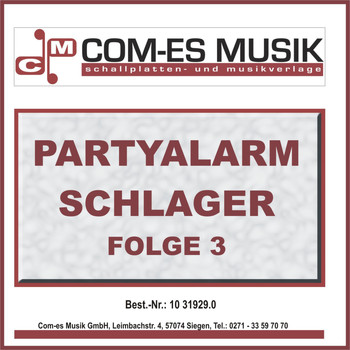 Various Artists - Partyalarm Schlager, Folge 3