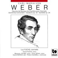Luc Fuchs, Daniel Fuchs - Carl Maria von Weber: Chamber Music with Clarinet (Grand Duo Concertant, Op. 48, J. 204 - Variations on a Theme from Silvana, Op. 33, J. 128 - Clarinet Quintet, Op. 34, J. 182)