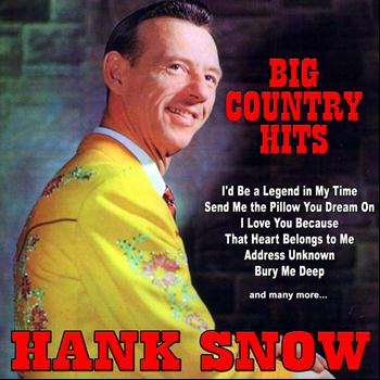 Hank Snow - Big Country Hits