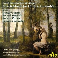 Osian Ellis & Melos Ensemble - French Music for Harp & Ensemble