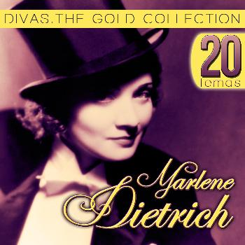 Marlene Dietrich - 20 Temas, Marlene Dietrich. Divas The Gold Collection.