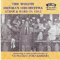 Woody Herman And His Orchestra - Scene & Herd in 1952 (Live)