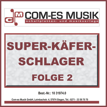 Various Artists - Super-Käfer-Schlager, Folge 2