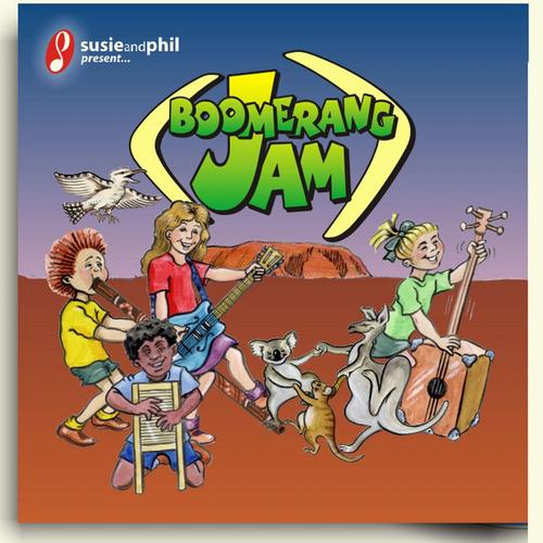Susie Davies-Splitter & Phil Splitter MP3 Album Boomerang Jam (Susie & Phil Present)