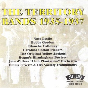Various Artists - The Territory Bands, 1935 - 1937