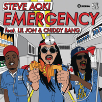 Steve Aoki - Emergency (feat. Lil Jon & Chiddy Bang)