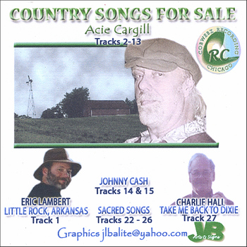 Acie Cargill, Johnny Cash, Eric Lambert - Songs For Sale