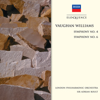 Sir Adrian Boult / London Philharmonic Orchestra - Vaughan Williams: Symphony No.4; Symphony No.6
