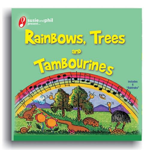 Susie Davies-Splitter & Phil Splitter MP3 Album Rainbows Trees and Tambourines (Susie & Phil Present)