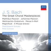 Rundfunkchor Leipzig - J.S. Bach: The Great Choral Masterpieces