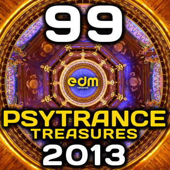Various Artists - Psy Trance Treasures 2013 (99 Best of Full-on, Progressive & Psychedelic Goa Hits)