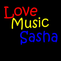 Sasha - All you really need is love