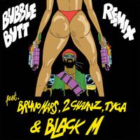 Major Lazer - Bubble Butt (Remix) [feat. Bruno Mars, 2 Chainz, Tyga & Black M]