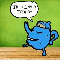 Tumble Tots - I'm a Little Teapot: 30 Kids Dance Songs for Tumbling Toddlers