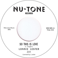 Lonnie Lester - So This Is Love