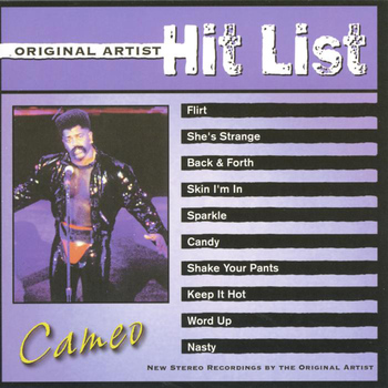 Cameo - Original Artist Hit List: Cameo