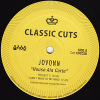 Jovonn - House Ala Carte