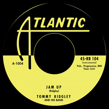 Tommy Ridgley - Jam Up / Jam Up Twist