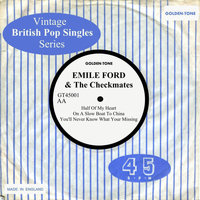 Emile Ford & The Checkmates - Vintage British Pop Singles: Emile Ford & The Checkmates